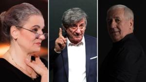 Cat castiga directorii marilor teatre din Capitala: Maia Morgenstern, Ion Caramitru, George Mihaita si Vasile Muraru