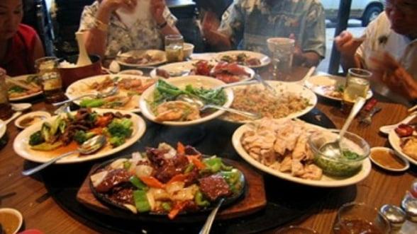 Cat costa sa iei masa la restaurantele cu specific asiatic din Bucuresti
