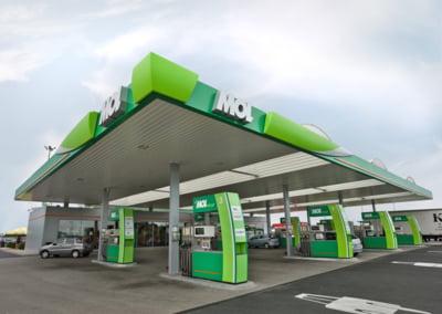 Cate benzinarii MOL are Romania acum?