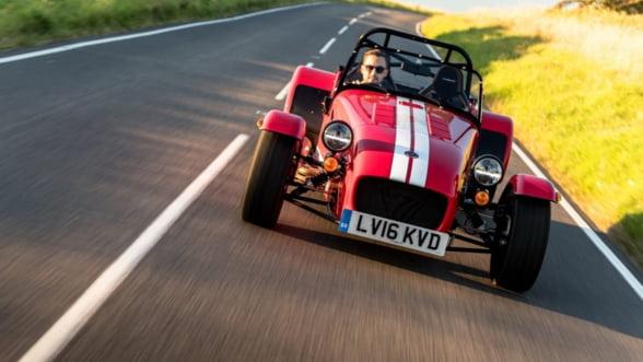 Caterham Seven 310, un roadster pentru o vara de neuitat