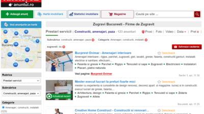 Cauti mesteri zugravi sau electricieni autorizati pentru reparatii in casa? Intra pe Anuntul.ro si gaseste cele mai noi anunturi de prestari servicii in Bucuresti!