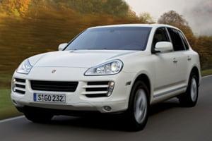 Cayenne Diesel este in Romania