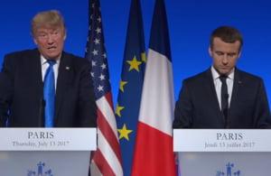 Ce-a reusit Macron sa-l determine pe Trump sa spuna despre Acordul de la Paris: S-ar putea intampla ceva
