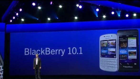 Ce aduce nou urmatorul update Blackberry