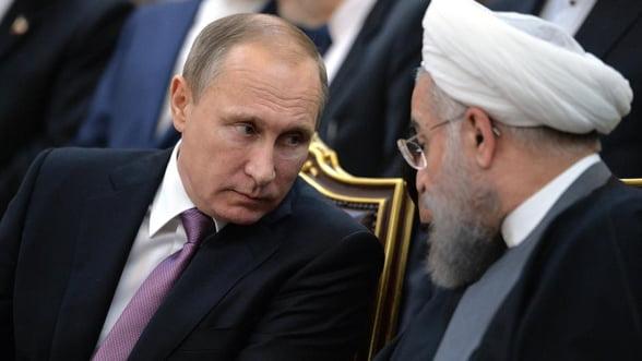 Ce joc face Rusia in Orientul Mijlociu? Iranul reclama vanzarea unor secrete militare catre Israel