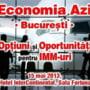 """Ce oportunitati au IMM-urile din Bucuresti si Ilfov? O noua dezbatere """"Economia azi"""" in Capitala"""