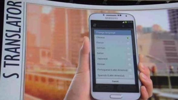 Ce poti face cu un Samsung Galaxy S4 cand pleci in strainatate. Il transformi in traducator personal