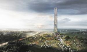 Cea mai inalta cladire din vestul Europei va fi construita intr-o mica localitate daneza. Va fi vizibila de la 60 de kilometri