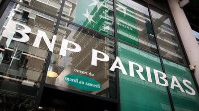 Cea mai mare banca din Franta trebuie sa plateasca penalitati record, de 9 miliarde dolari