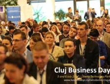 Cea mai mare densitate de antreprenori si top manageri la un singur eveniment dedicat afacerilor din Europa de Est va fi la Cluj Business Days 2017