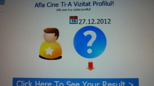 Cea mai mare escrocherie cu care au luat plasa romanii pe Facebook: Afla cine ti-a vazut profilul