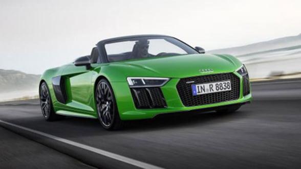 Cea mai rapida decapotabila a verii vine de la Audi