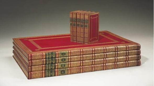 Cea mai scumpa carte din lume, scoasa la licitatie