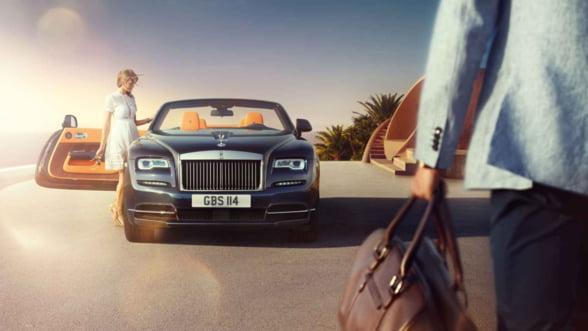 Cea mai sexy masina a tuturor timpurilor? Inevitabil, Rolls Royce Dawn