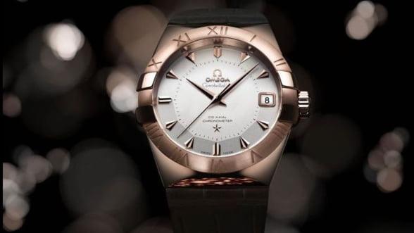 Ceasuri elvetiene cu aur Sedna de 18 carate - Swatch loveste din nou