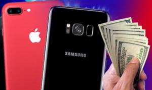 Cei mai mari producatori de telefoane negociaza la sange. Ce vrea Apple sa obtina de la Samsung