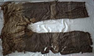 Cei mai vechi pantaloni din lume? - Unde au fost gasiti
