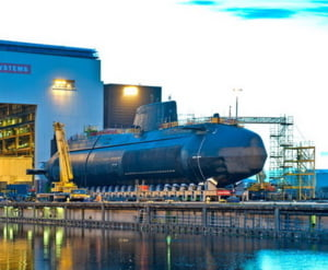 Cel mai avansat submarin Royal Navy, mai silentios ca un pui de delfin