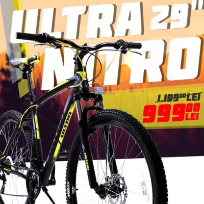 """Cel mai bun pret din Romania la bicicleta mtb 29"""" - doar 999 lei pe Click4sport.ro"""
