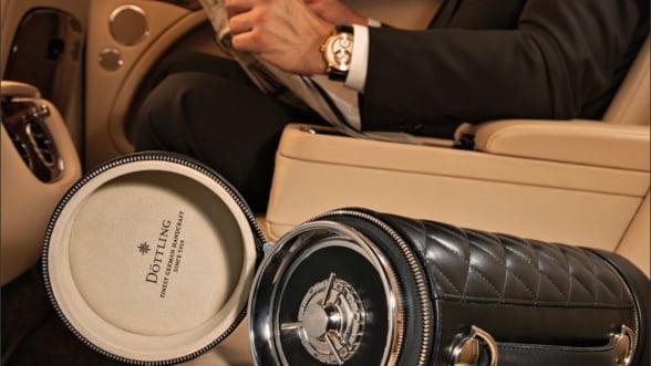 Cel mai elegant seif: Poarta mereu cu tine geanta-cilindru Guardian
