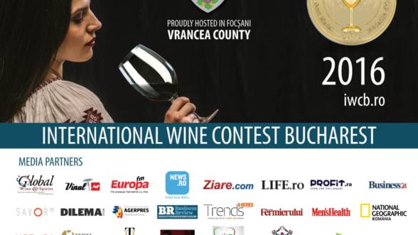 Cel mai important concurs international de vinuri din Europa de Est revine la Bucuresti