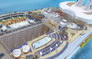 Cel mai luxos si extravagant vas de croaziera va fi lansat miercuri la apa