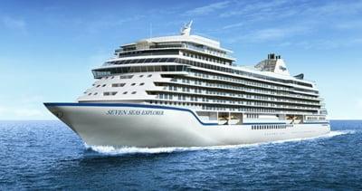 Cel mai luxos vas de croaziera din lume, unde o camera costa si 10.000 de dolari pe noapte