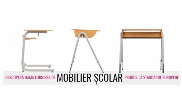 Cel mai nou mobilier scolar poate fi gasit acum si pe Furnissa.ro