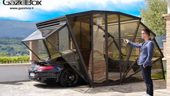 Cel mai stilat garaj, perfect pentru curtea ta (Video)