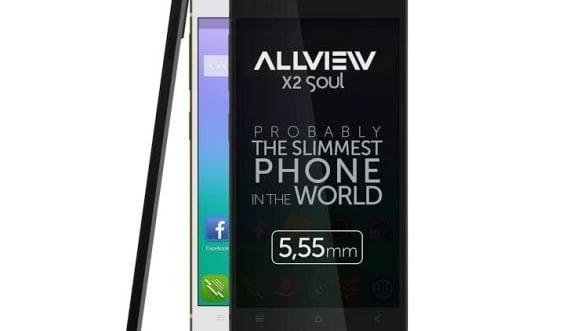 Cel mai subtire smartphone vine din Romania: Are 5,55 mm grosime