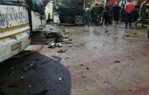 Cel putin 44 de morti intr-un atentat dublu produs la Damasc (Video tulburator)
