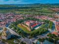 Cetatea Fagarasului, in curs de restaurare: singura din Romania cu pod mobil peste santul de aparare
