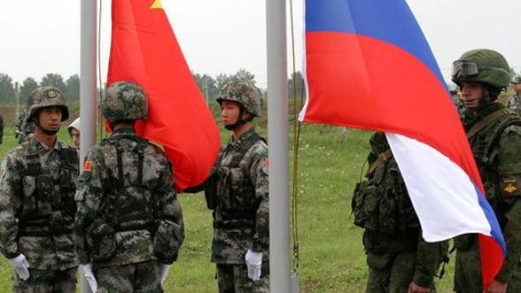 China si Rusia, gata sa puna bazele unei aliante militare de Ziua Victoriei