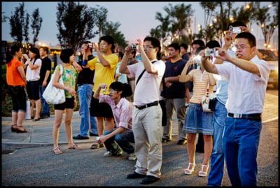 Chinezii au inceput sa evite Coreea de Sud, de cand americanii si-au adus rachetele in peninsula
