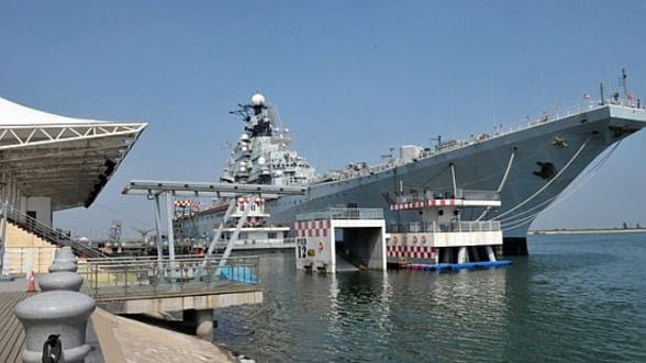 Chinezii au transformat un portavion rusesc intr-un hotel de lux