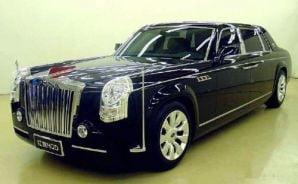 Chinezii copiaza Rolls Royce Phantom: Hongqi HQE