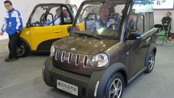 Chinezii s-au abonat la masini electrice. Vanzarile sunt duble fata de SUA