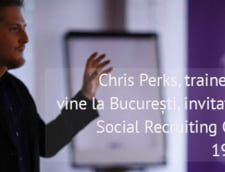 Chris Perks, trainer Google, vine la Social Recruiting Conference, pe 19 mai