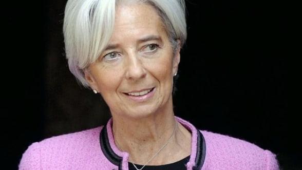 Christine Lagarde, FMI: Deflatia, noua amenintare a economiei mondiale