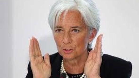 Christine Lagarde: FMI exclude un tratament special pentru Grecia