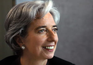 Christine Lagarde, candidata la sefia FMI?
