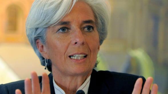 """Christine Lagarde, despre zona euro: E nevoie de actiuni """"urgente"""""""