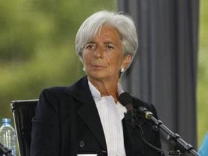 Christine Lagarde, intervievata de FMI