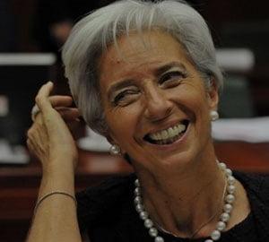 Christine Lagarde, noul sef al FMI