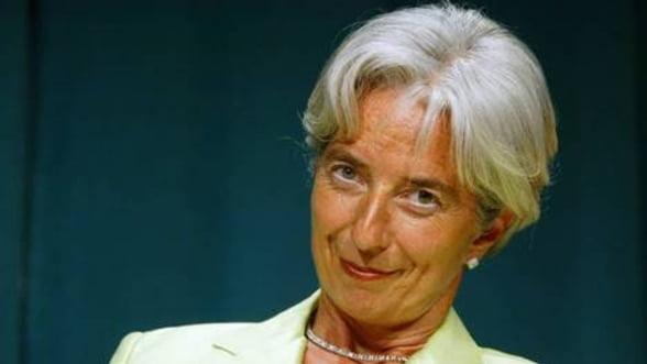 Christine Lagarde spune ca FMI are nevoie de bani mai putini