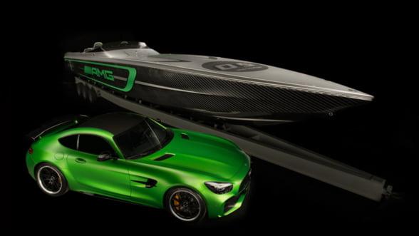 Cigarette 50 Marauder AMG: Lasa-te purtat pe valuri de o salupa inspirata de masinile Mercedes
