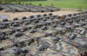 Cimitirul tancurilor - locul unde blindatele europene isi gasesc sfarsitul (Galerie foto)
