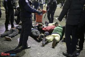 Cinci persoane au fost arestate in dosarul violentelor din Piata Victoriei
