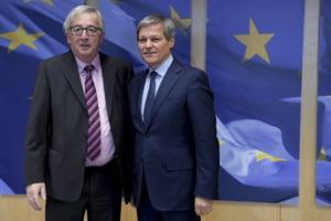 Ciolos, discutii cu Juncker despre Europa cu mai multe viteze: Locul Romaniei depinde de gradul de ambitie