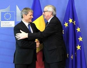 Ciolos, intalniri la Bruxelles cu Juncker si alti oficiali, cu binecuvantarea lui Grindeanu